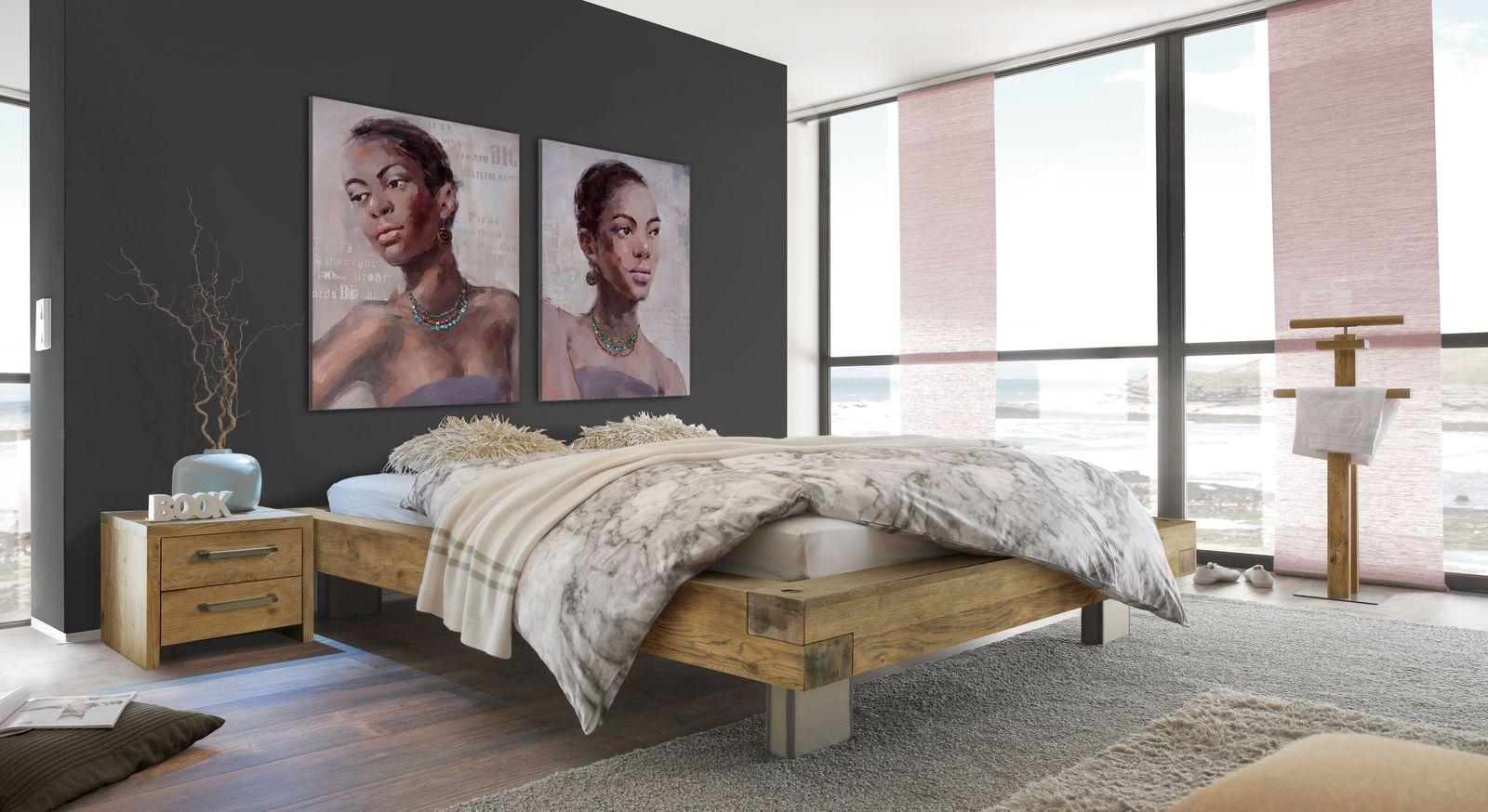 Liege Limeira mit passenden Schlafzimmer-Accessoires