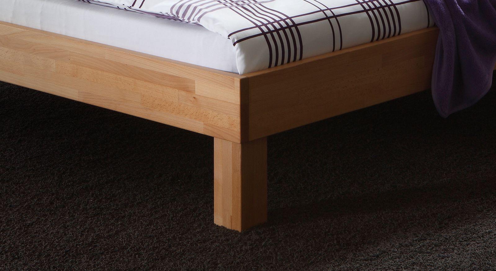 bett mit tiefem einsteig ohne kopfteil liege luzern. Black Bedroom Furniture Sets. Home Design Ideas