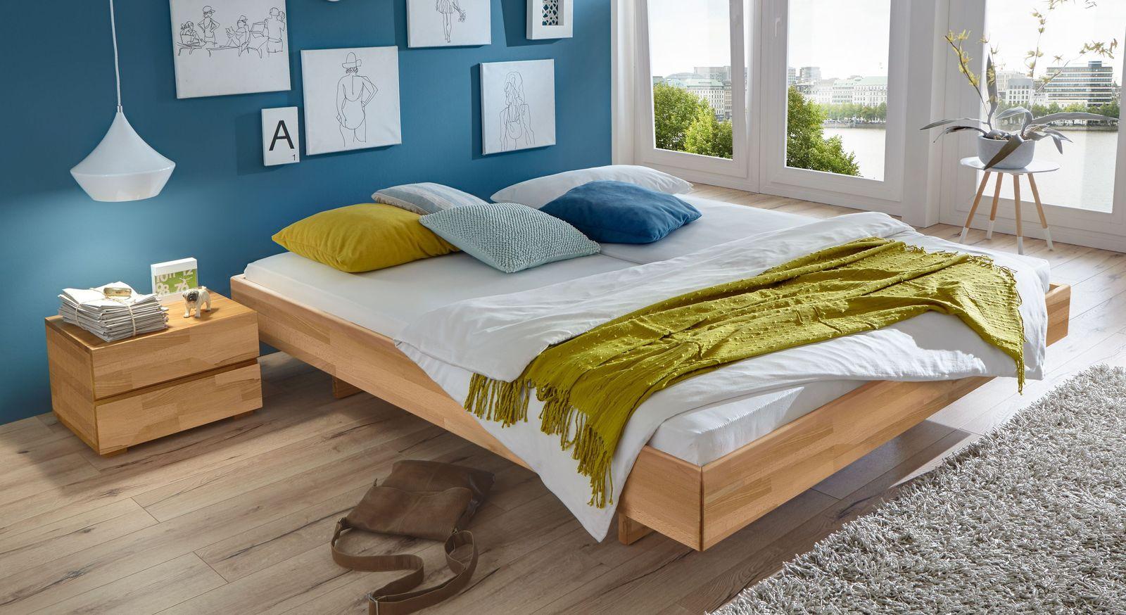 Naturfarbene Liege Rimini mit 18 cm Rahmenhöhe