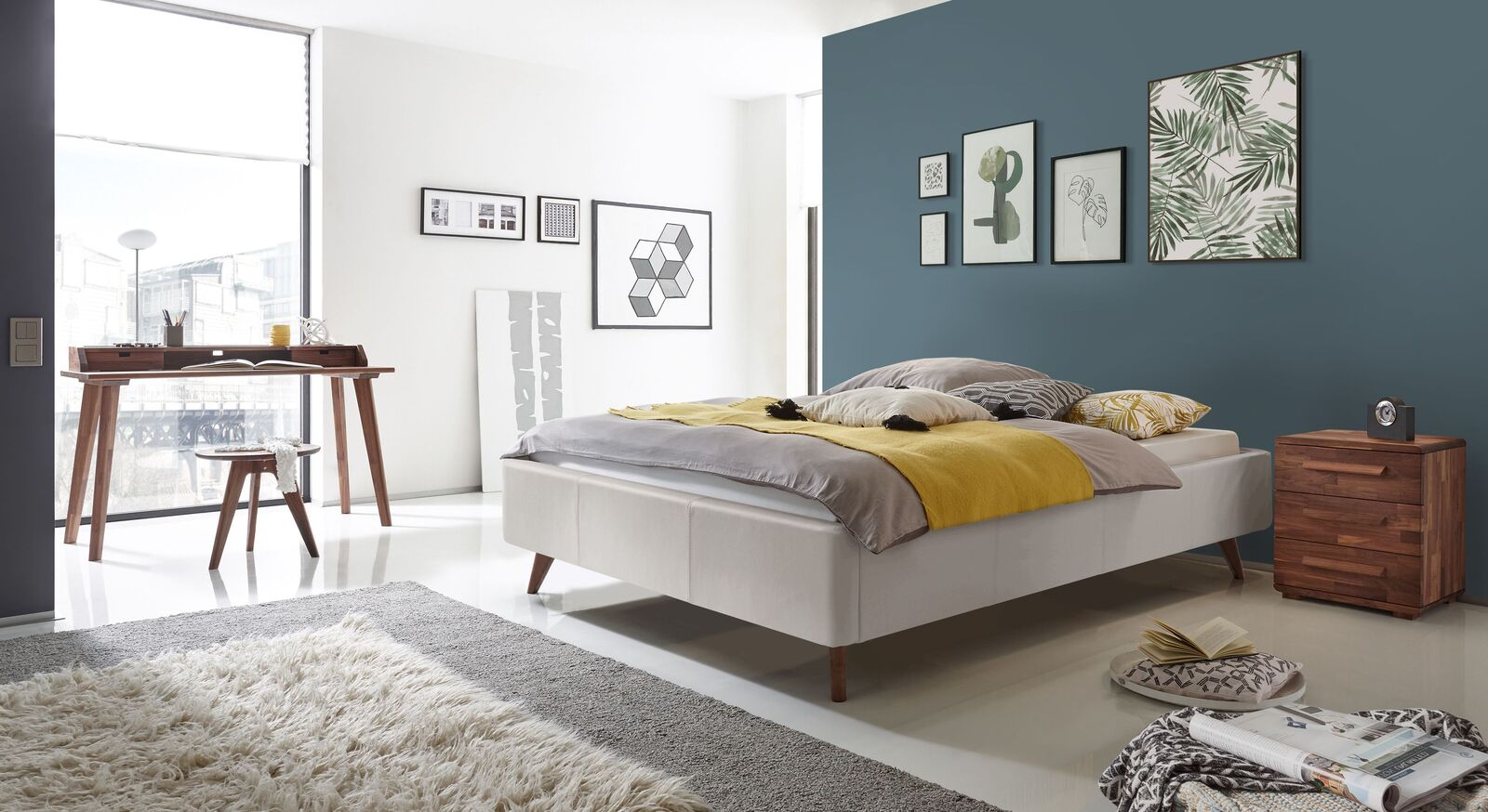 Liege Sien mit passender Schlafzimmer-Ausstattung