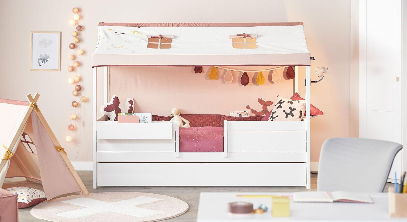 LIFETIME Kinderbett 4-in-1 Funland für Mädchen