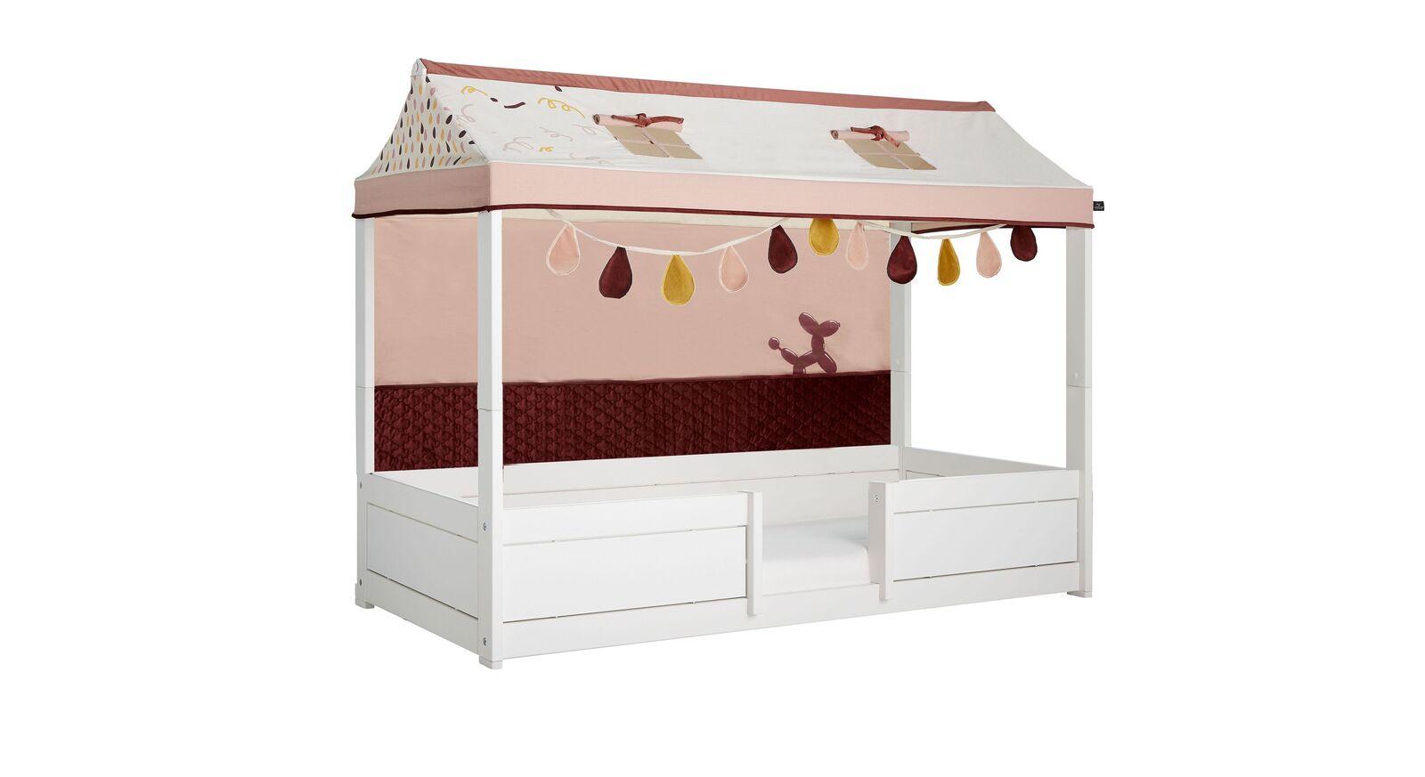 LIFETIME Kinderbett 4-in-1 Funland mit Stoffdach