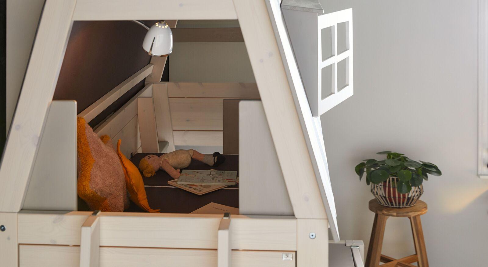 LIFETIME Abenteuer- und Etagenbett Hangout mit gemütlichem Spielbereich