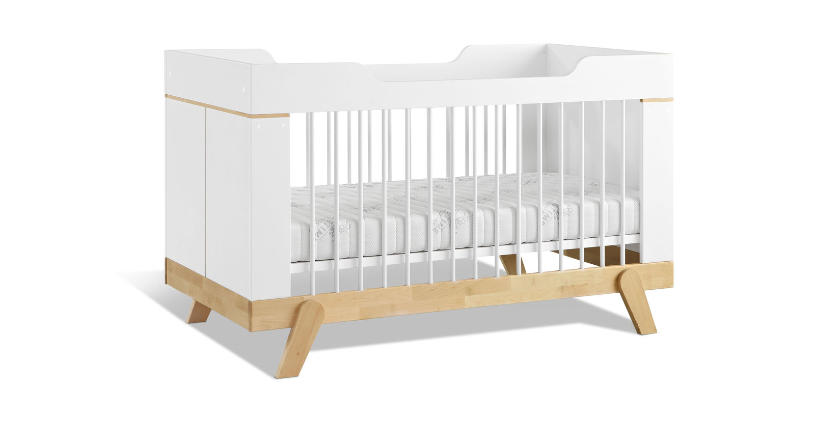 Stabiles LIFETIME Babybett Monina in schlichtem Design
