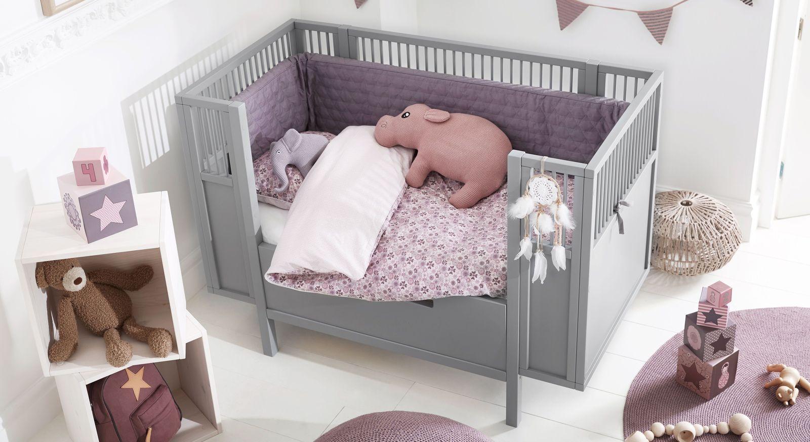 Komfortables Babybett LIFETIME Retro in angesagtem Design
