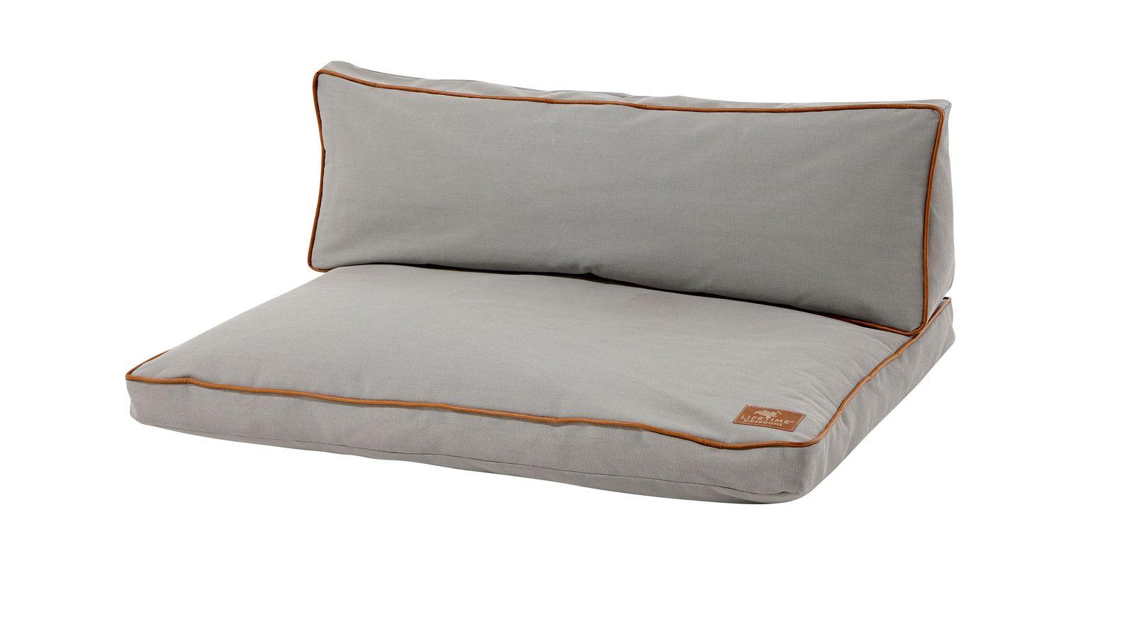 LIFETIME Bett & Sofa Ferienhaus mit Sitzpolster für die Couch