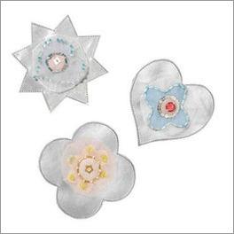 LIFETIME Deko-Blumen Sternenglanz mit 12cm Durchmesser