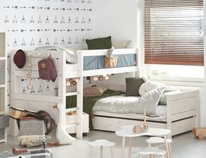 etagenbetten f r kleinkinder g nstig kaufen. Black Bedroom Furniture Sets. Home Design Ideas