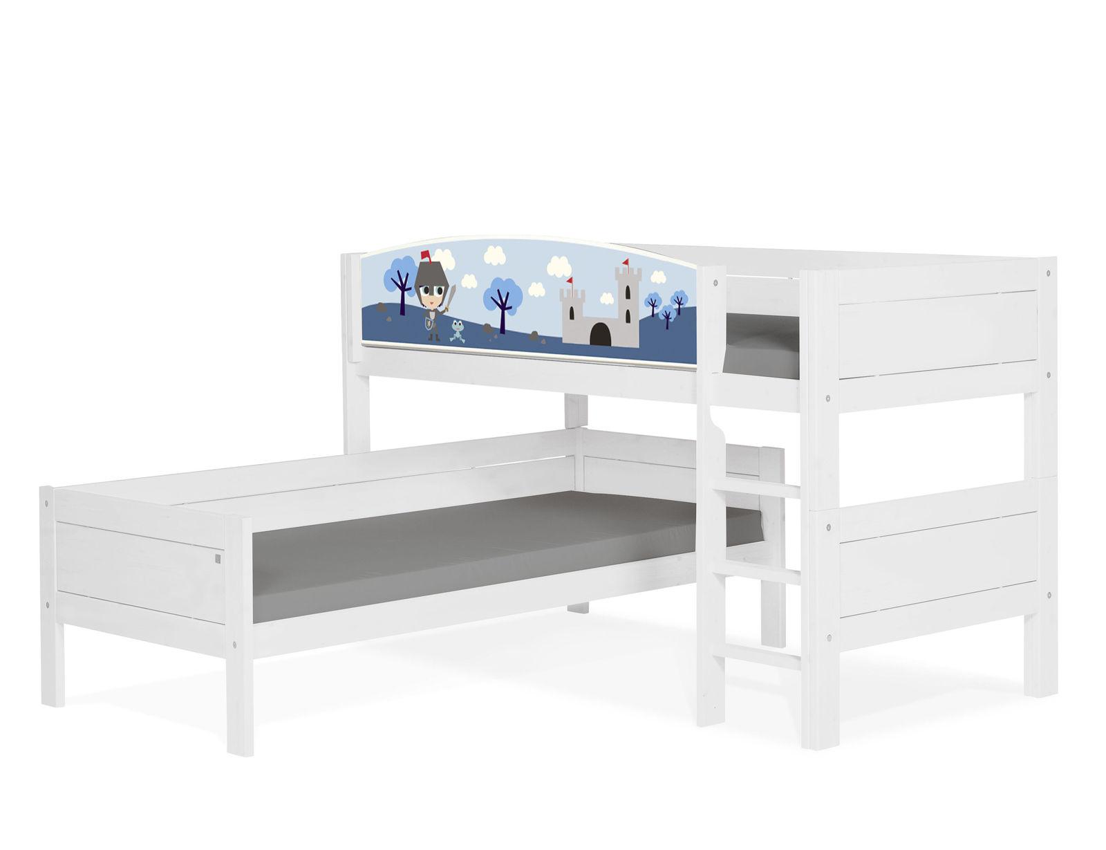 lifetime etagenbett ber eck aus kiefer z b in wei ritter. Black Bedroom Furniture Sets. Home Design Ideas