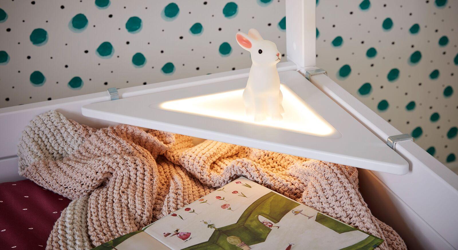 LIFETIME Eckablage Original mit sparsamer LED Beleuchtung