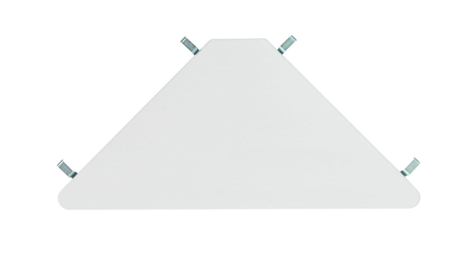 LIFETIME Eckablage Original aus weiß lackierter Kiefer