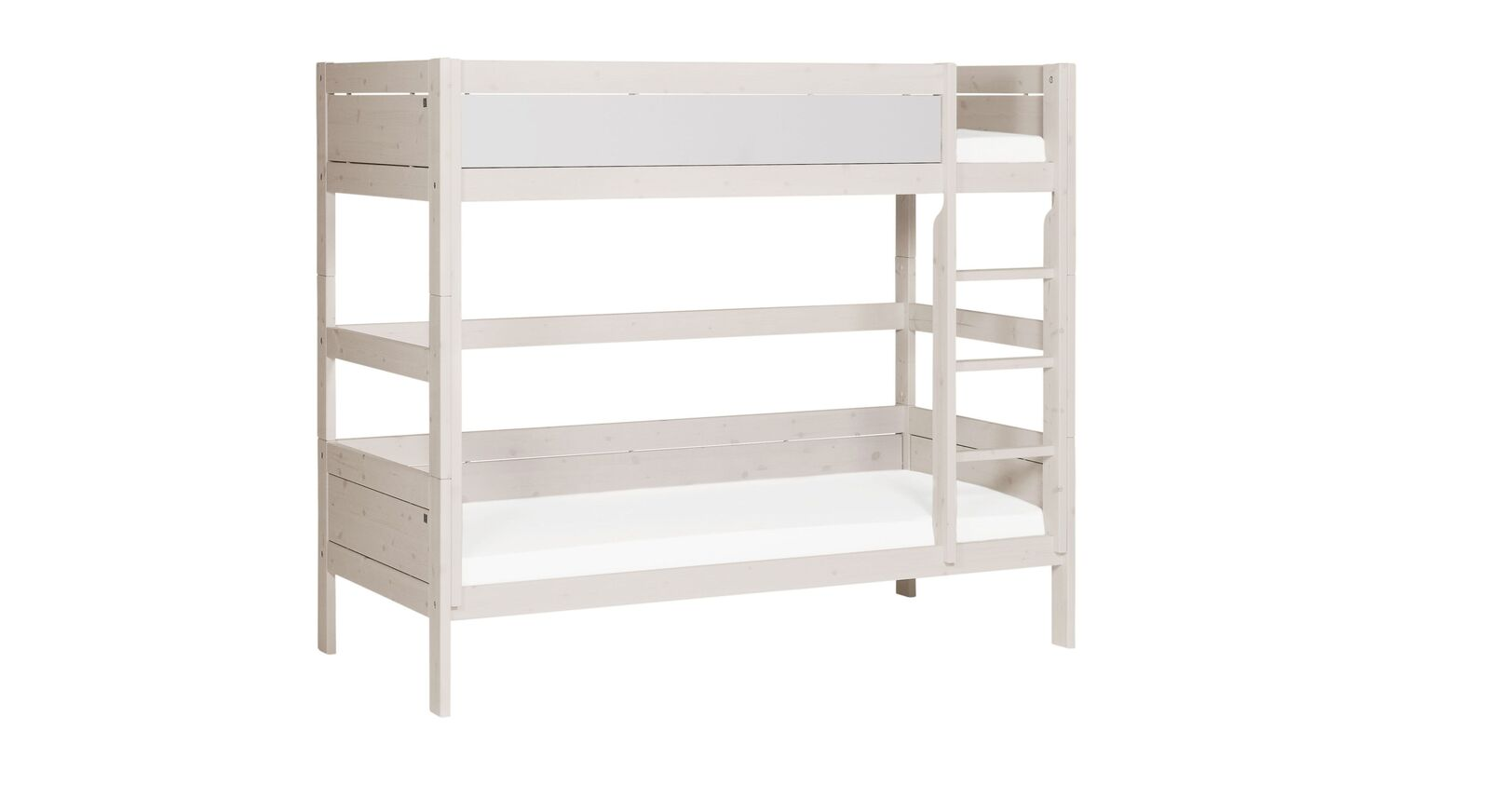 LIFETIME Etagenbett Color mit weiß lackierter Front