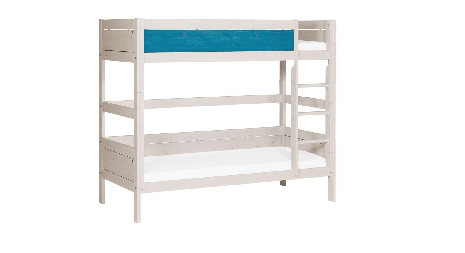 LIFETIME Etagenbett Color mit blauer Frontfüllung für Jungen