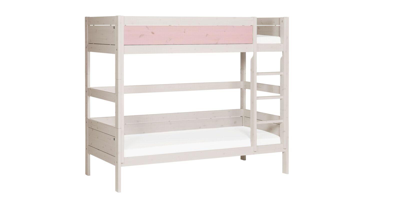 LIFETIME Etagenbett Color mit rosa Front für Mädchen