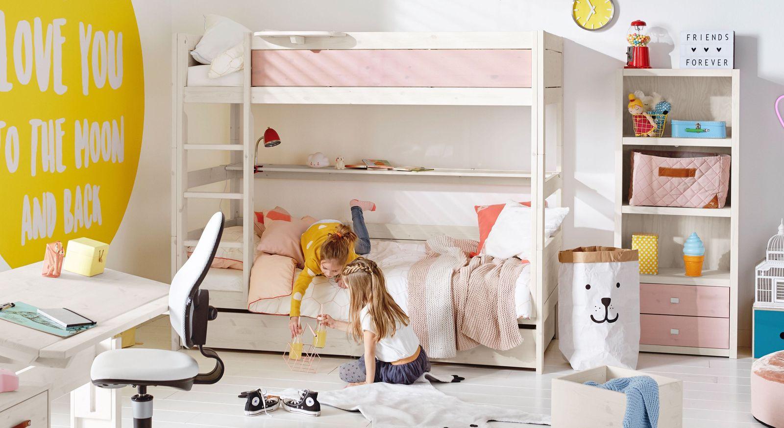 Etagenbett Für Erwachsene 100 Kg : Stabiles lifetime etagenbett mit leiter und lattenrost color