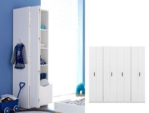 jugendzimmer mit kojenbett schrank lifetime original. Black Bedroom Furniture Sets. Home Design Ideas