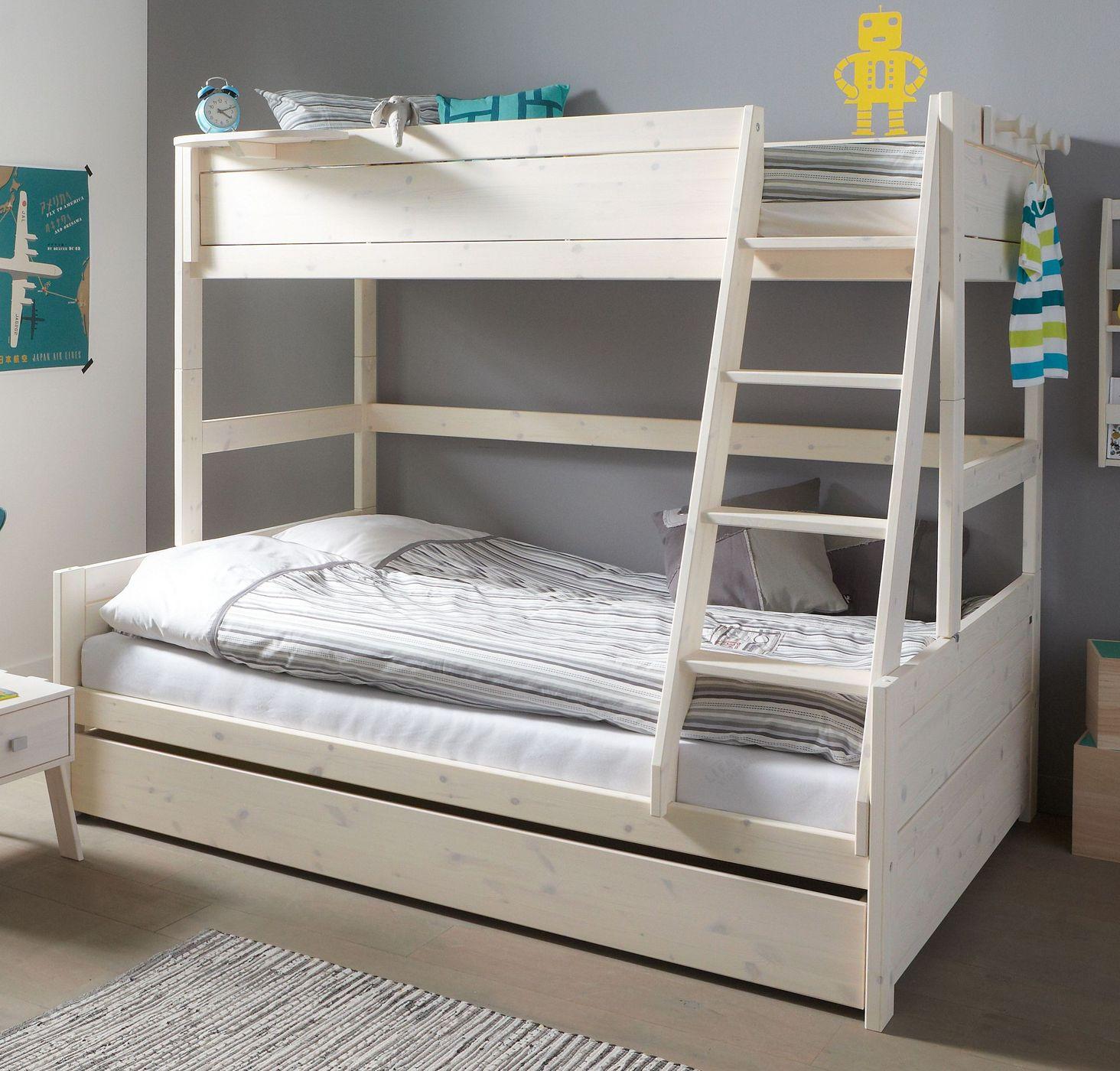 lifetime familienbett mit rausfallschutz in 2 gr en original. Black Bedroom Furniture Sets. Home Design Ideas
