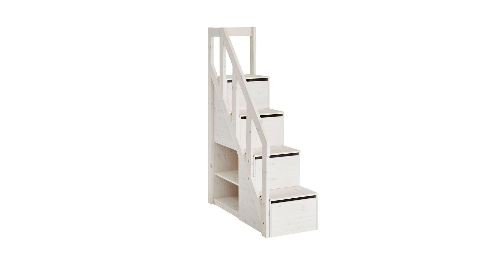 LIFETIME Familienbett Original mit 178 cm hohem Treppenmodul