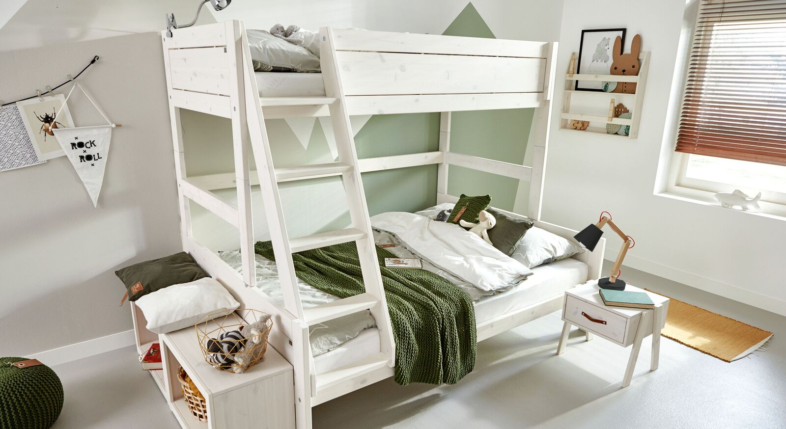 LIFETIME Familienbett Original mit zwei Liegeflächen