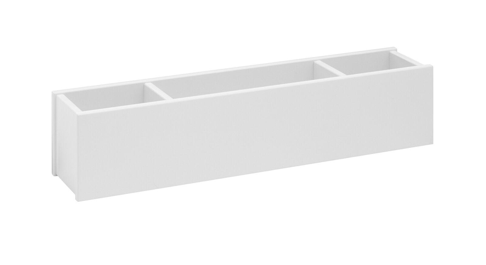 LIFETIME Hängekasten und Wandregal Original in Weiß lackiert