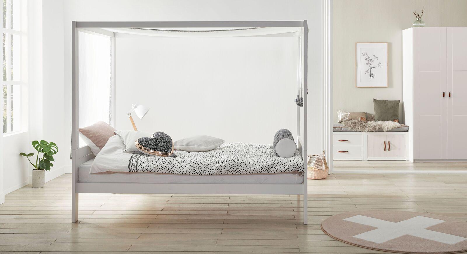 LIFETIME Himmelbett Living Style passend für Jugendzimmer