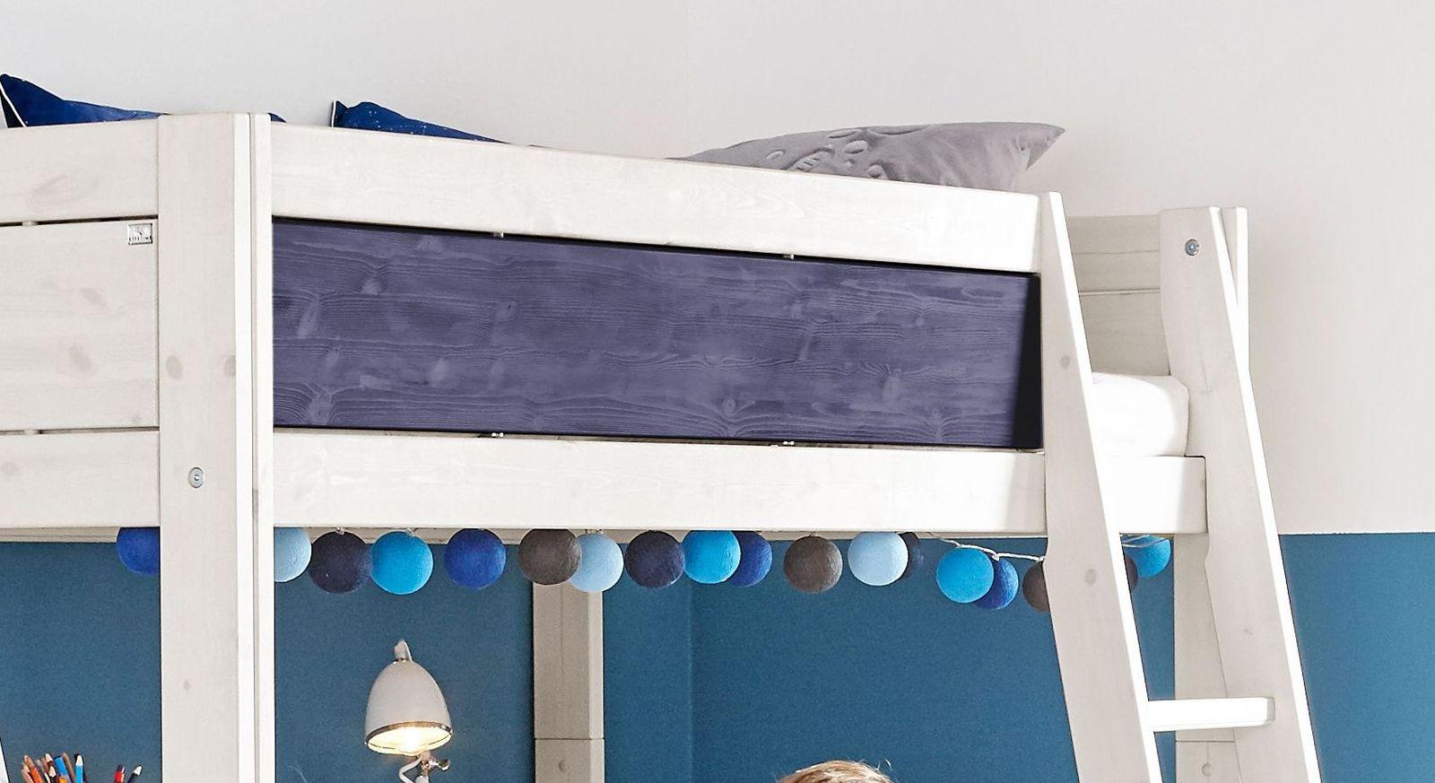 LIFETIME Hochbett Color mit konstrastreicher Frontfüllung