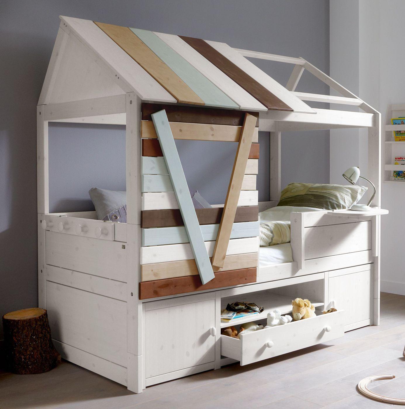 lifetime kojenbett baumhaus design mit viel stauraum survival. Black Bedroom Furniture Sets. Home Design Ideas