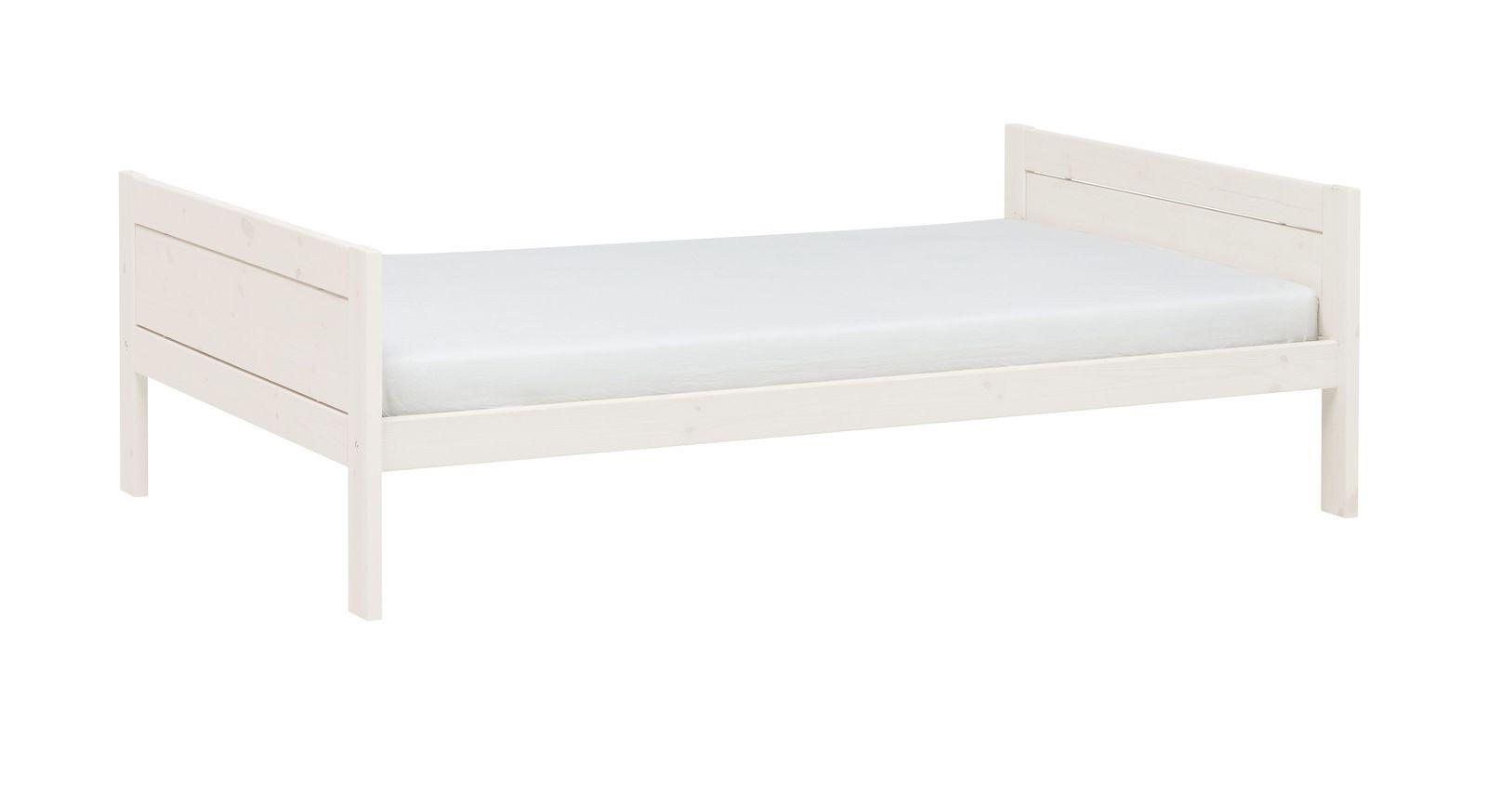 Jugendbett Original von LIFETIME aus weiß lasiertem Kiefernholz