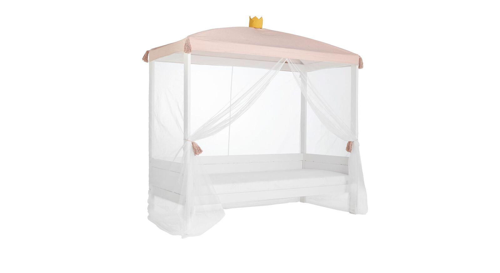 LIFETIME Kinder-Himmelbett Princess mit rosafarbenem Dach