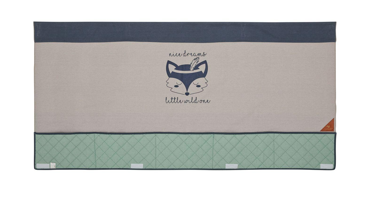 LIFETIME Kinderbett 4-in-1 Forest Ranger optional erhältliche Rückwand