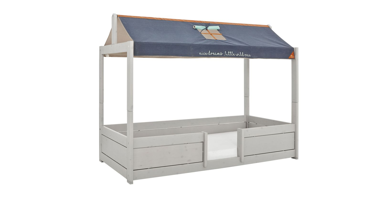 LIFETIME Kinderbett 4-in-1 Forest Ranger optional mit strapazierfähigem Stoffdach