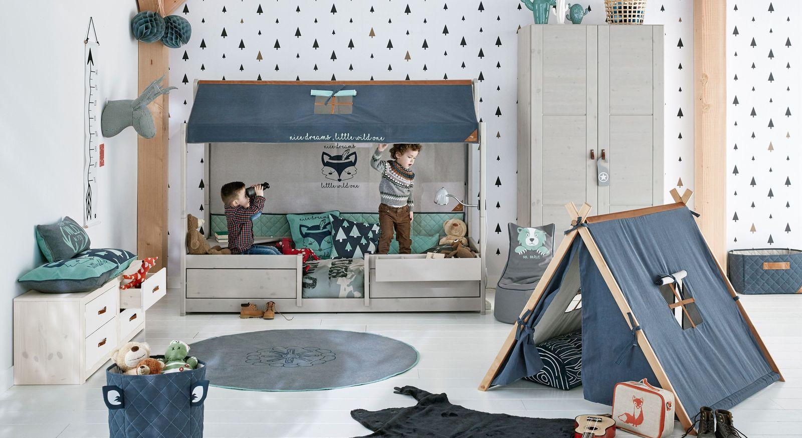 LIFETIME Kinderbett 4-in-1 mit passenden Produkten zum Spielzimmer