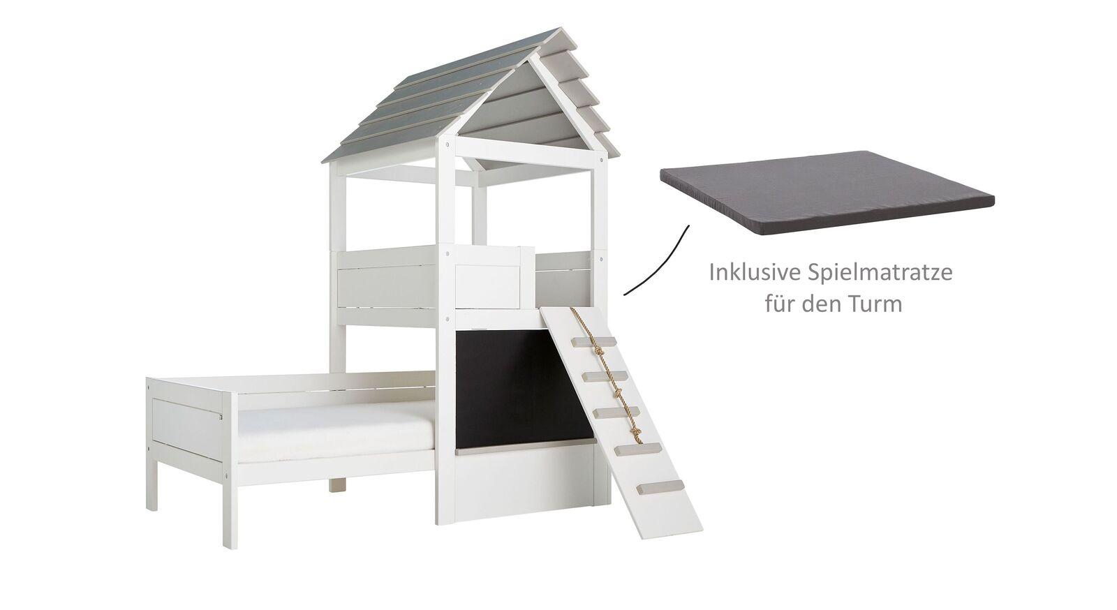LIFETIME Kinderbett Play Tower inklusive Spielmatratze