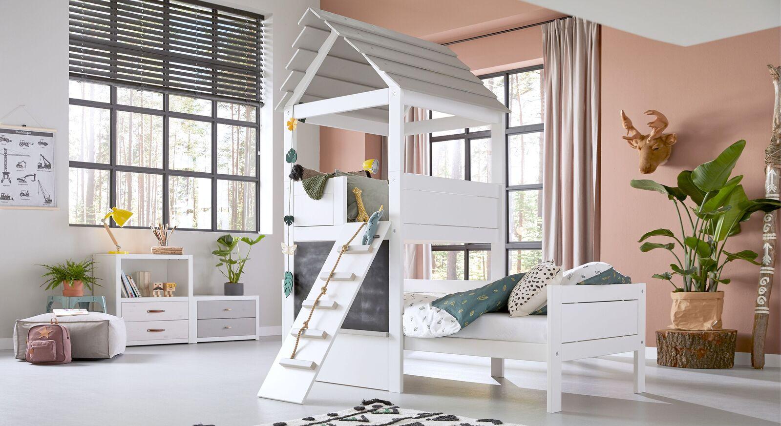 LIFETIME Kinderbett Play Tower als modernes Spielbett