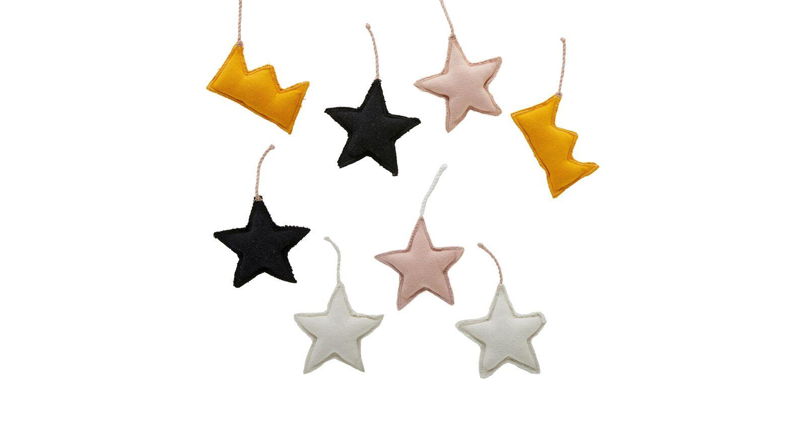 LIFETIME Kinderbett Princess Stars mit Deko-Betthänger