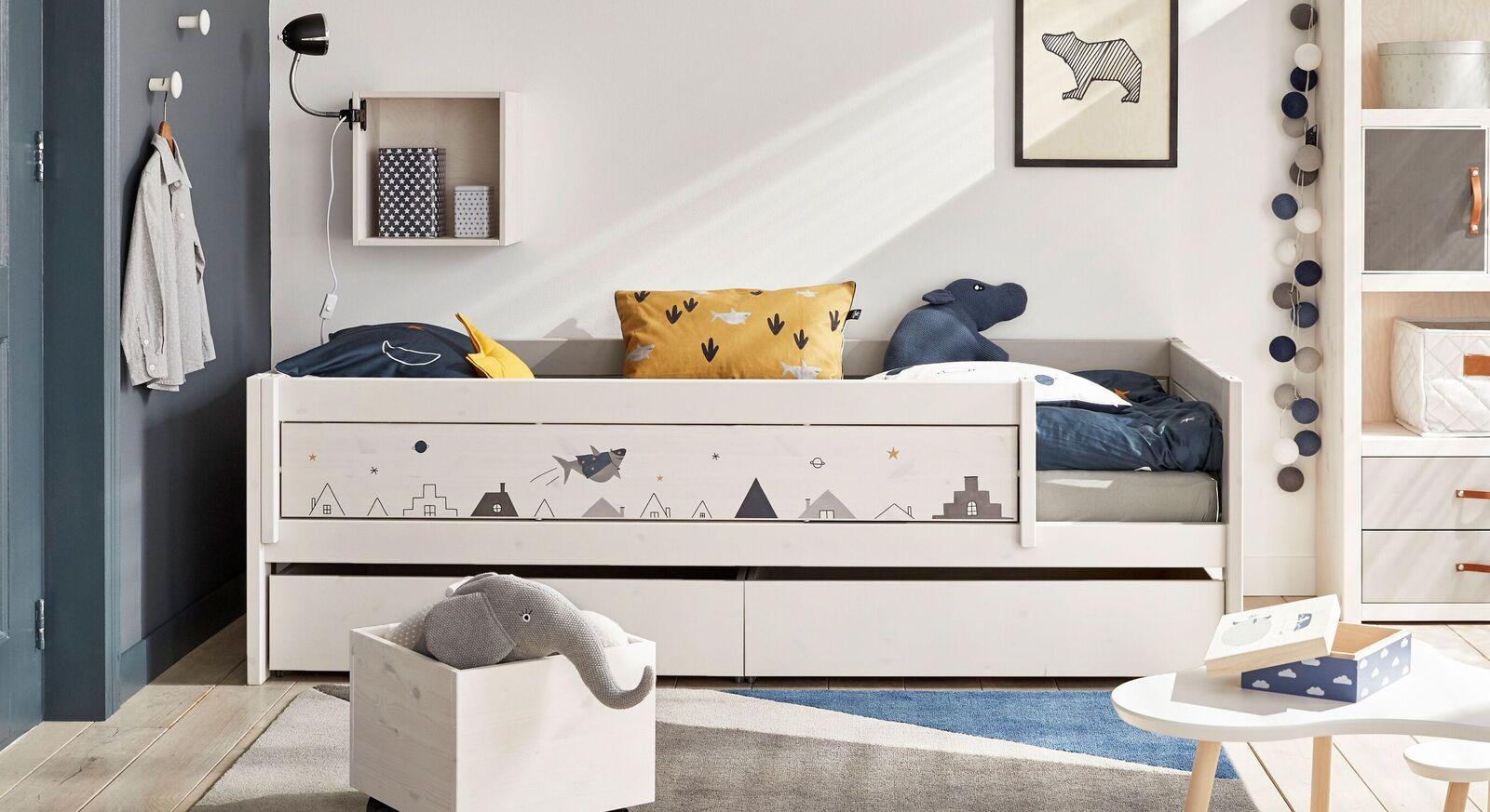 Modernes LIFETIME Kinderbett Space Dream für Jungenzimmer