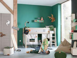 kinderzimmer f r jungen zum schlafen und spielen. Black Bedroom Furniture Sets. Home Design Ideas
