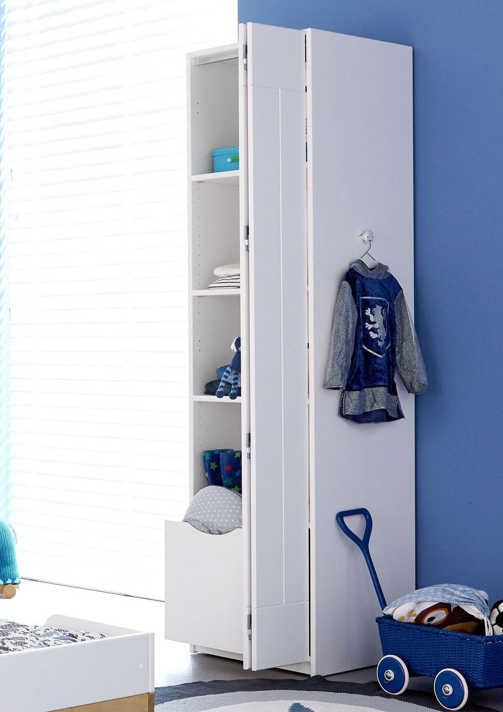 LIFETIME Falttüren-Kleiderschrank aus massiver Kiefer - Monino