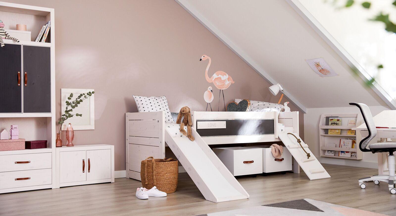 LIFETIME Kojenbett Climmb & Slide für moderne Kinderzimmer