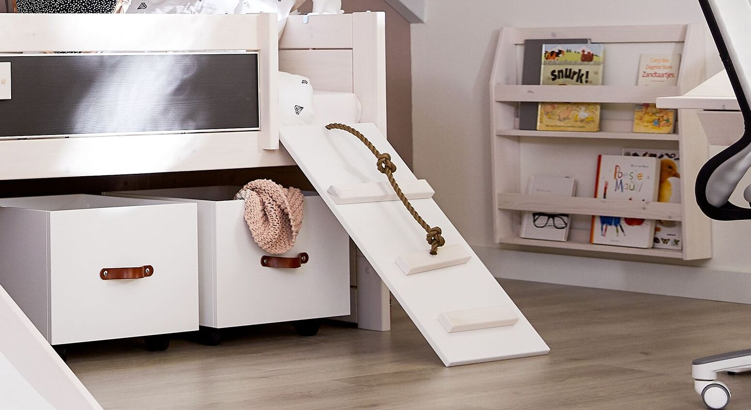 LIFETIME Kojenbett Climb & Slide mit Kletter-Planke