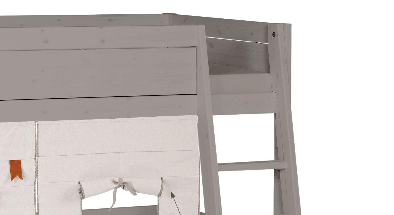 Hochbett Leiter Schräg Oder Gerade : Dolphin fantasy hochbett höhe cm schräge leiter mezzanine bett