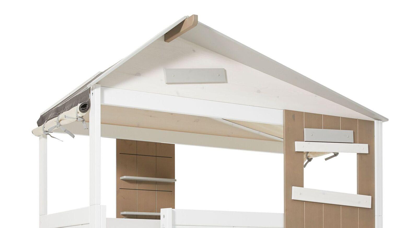 LIFETIME Midi-Hüttenbett Hideout mit schrägem Dach