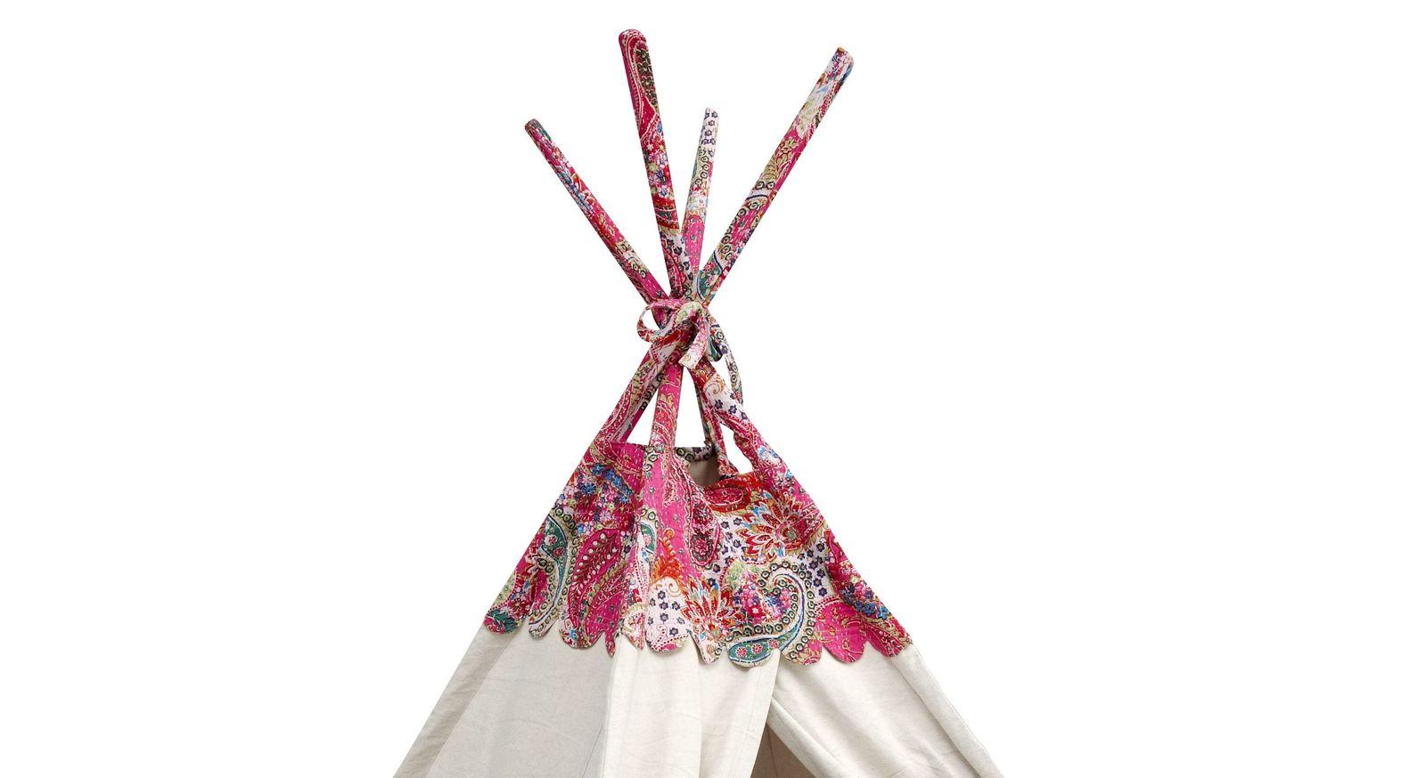 LIFETIME Schlafzelt India mit verspielten Ornamenten