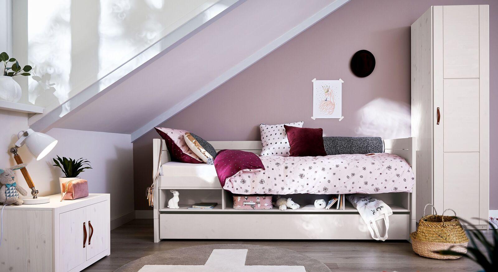 LIFETIME Stauraum-Sofabett Original mit passendem Zubehör