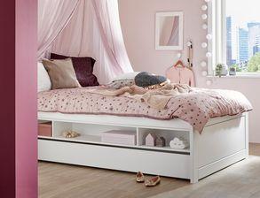 multifunktionale jugendbetten in wei. Black Bedroom Furniture Sets. Home Design Ideas