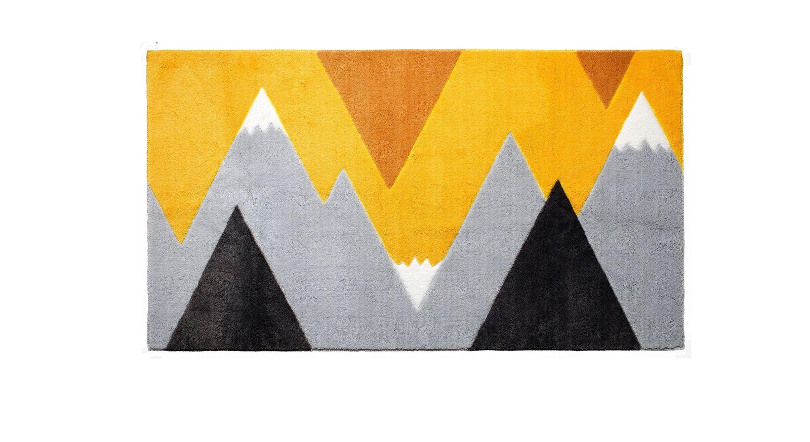 LIFETIME Teppich Mountain Trip in Gelb