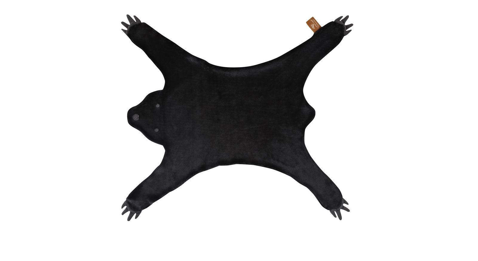 Wandelbarer LIFETIME Teppich & Verkleidung Bär in Schwarz für Kinder