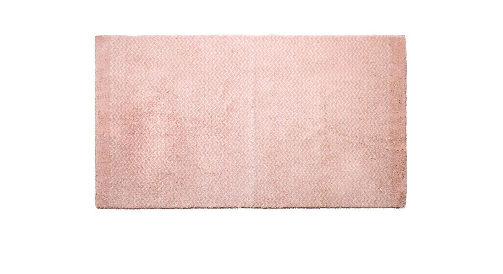 Rosafarbener LIFETIME Teppich Zigzag für Mädchenzimmer
