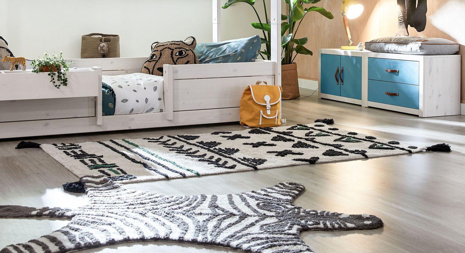 Moderne LIFETIME Teppiche Wild Life für Kinderzimmer