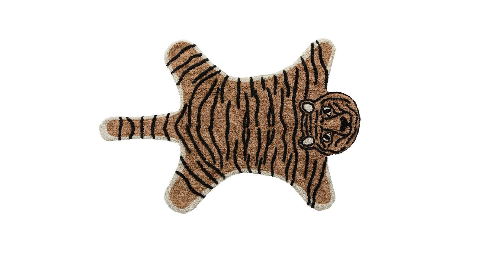 LIFETIME Teppiche Wild Life mit Tiger Motiv